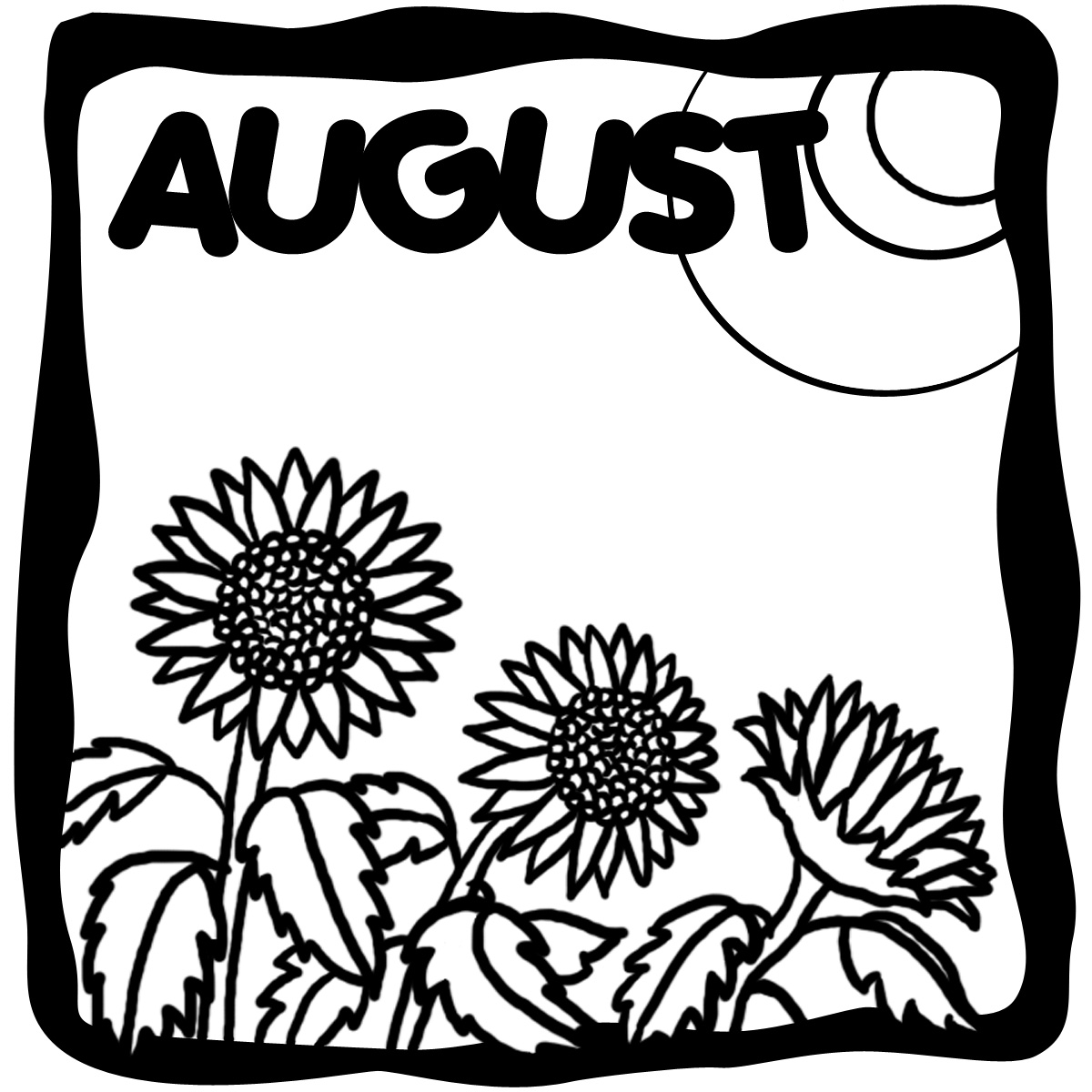 August clipart 7.