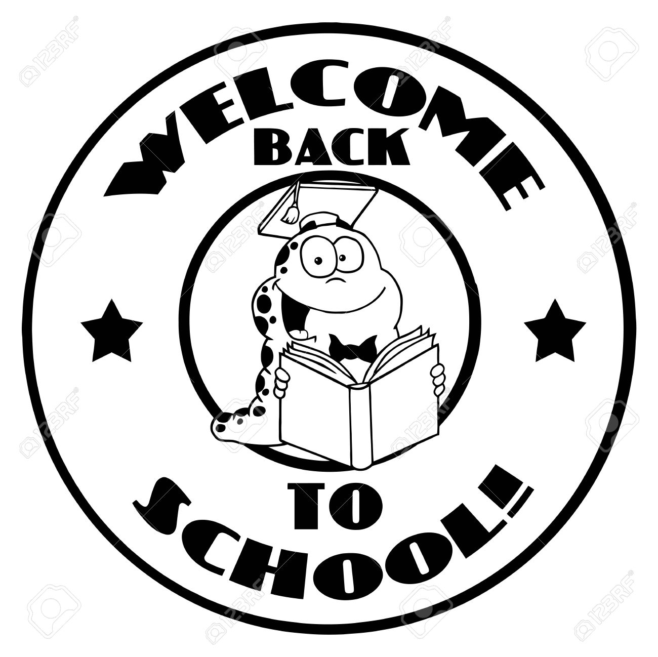 Welcome Back Clipart Black And White.