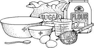 Image result for cooking black and white clipart.