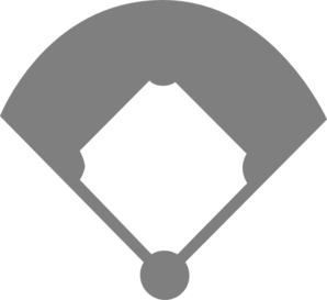 Baseball field clipart black and white 1 » Clipart Station.