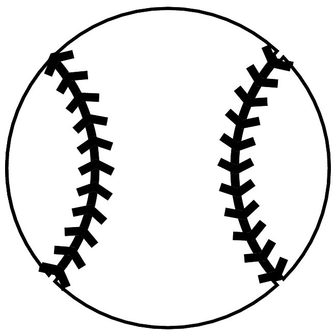Free Baseball Outline Cliparts, Download Free Clip Art, Free Clip.