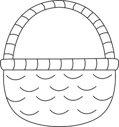 6384 Basket free clipart.