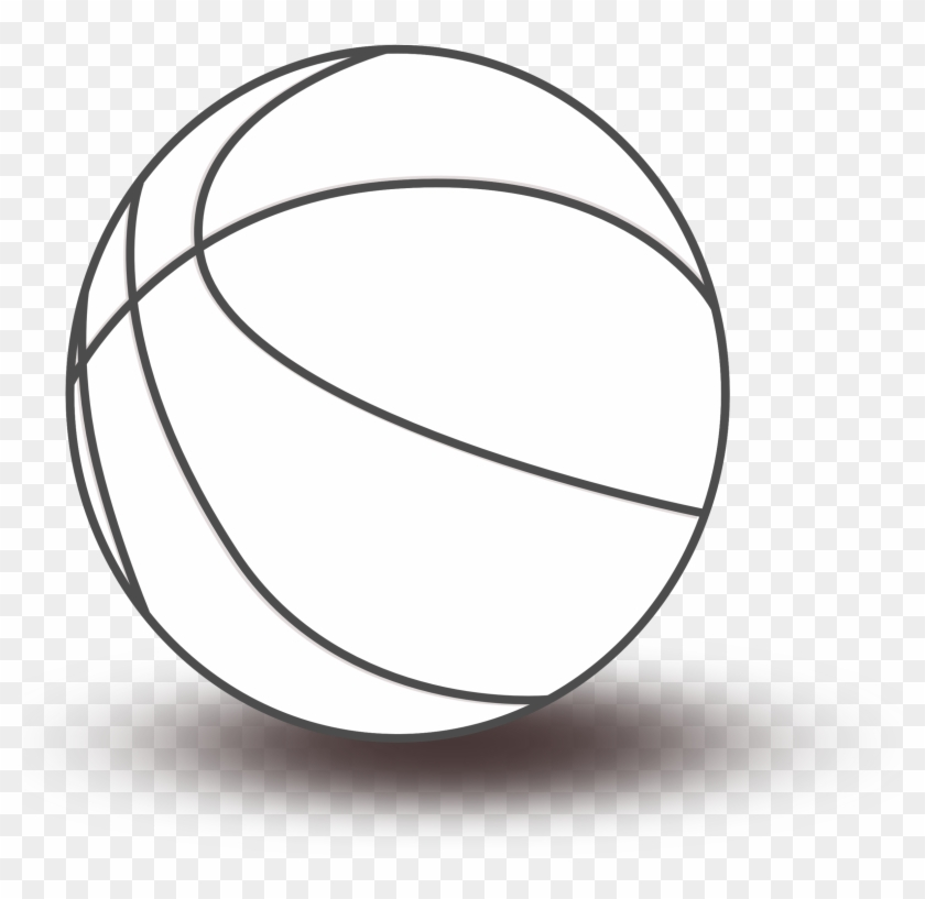 Free Black And White Basketball Png & Free Black And White.