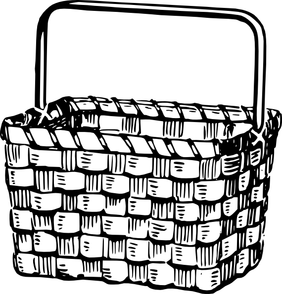 Basket Clip Art at Clker.com.