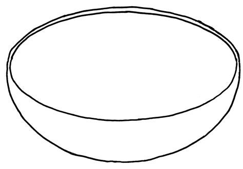 Empty fruit basket clipart black and white » Clipart Portal.
