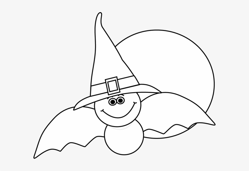 Halloween Clipart Png Black And White.