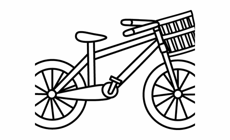Bike Clipart Outline Clipart Cycle Black And White.