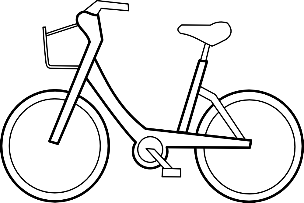 Free Black And White Bike Images, Download Free Clip Art.