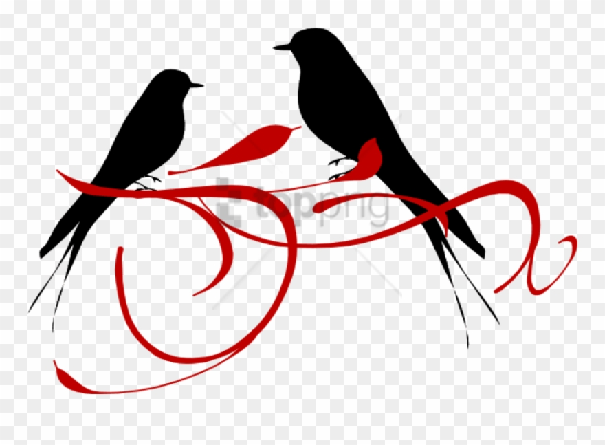 Free Png Red Love Birds Png Image With Transparent.