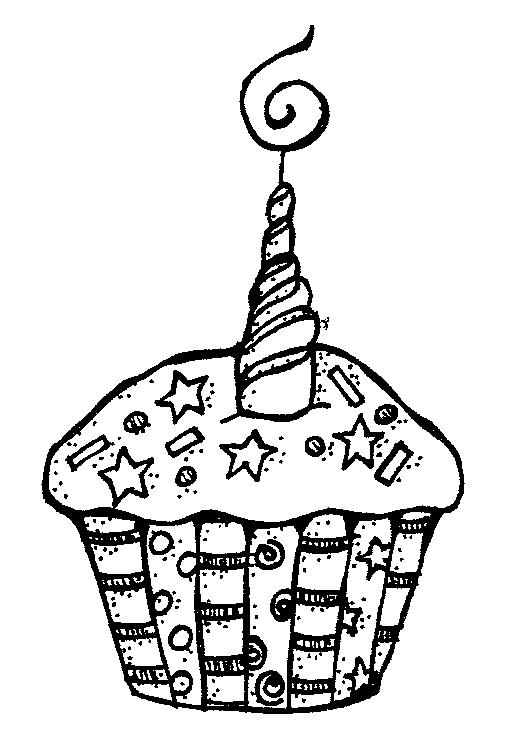 Birthday Clip Art Black And White & Birthday Clip Art Black And.