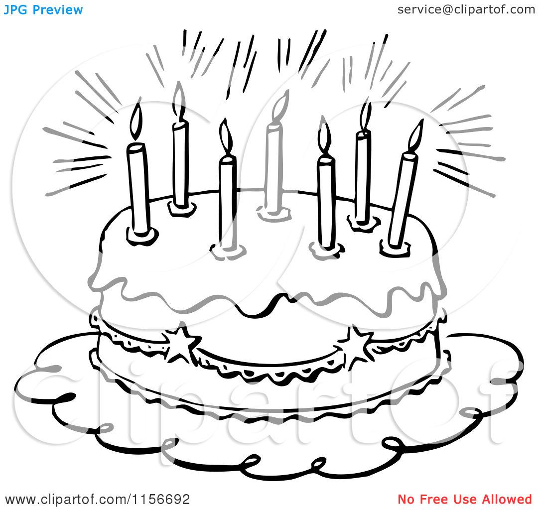 Black And White Birthday Clip Art & Black And White Birthday Clip.