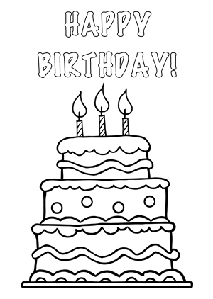 Happy Birthday Clip Art Black And White & Happy Birthday Clip Art.
