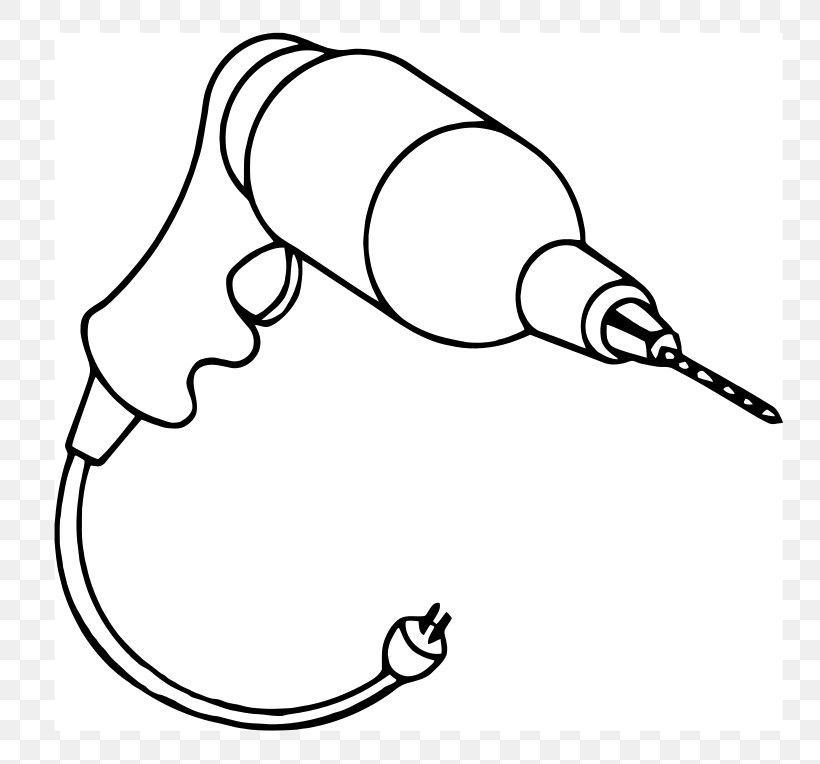 Drill Bit Tool Cordless Clip Art, PNG, 800x764px, Drill.
