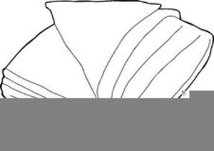 Black And White Blanket Clipart.