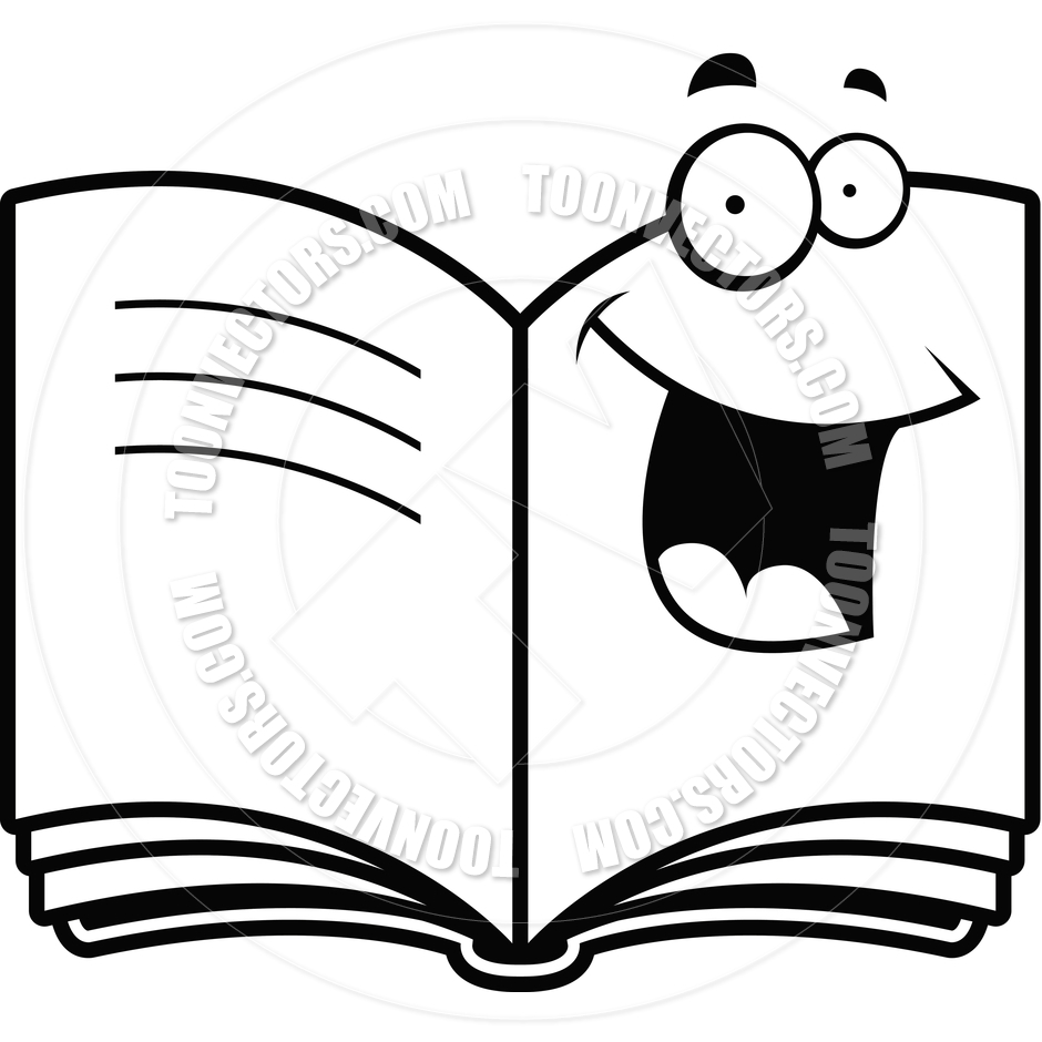 Books black and white clipart 2 » Clipart Station.