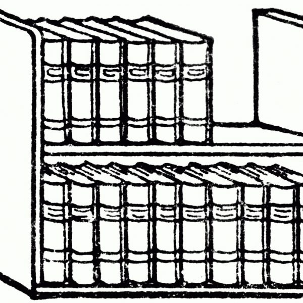 Bookshelf clipart black and white » Clipart Station.