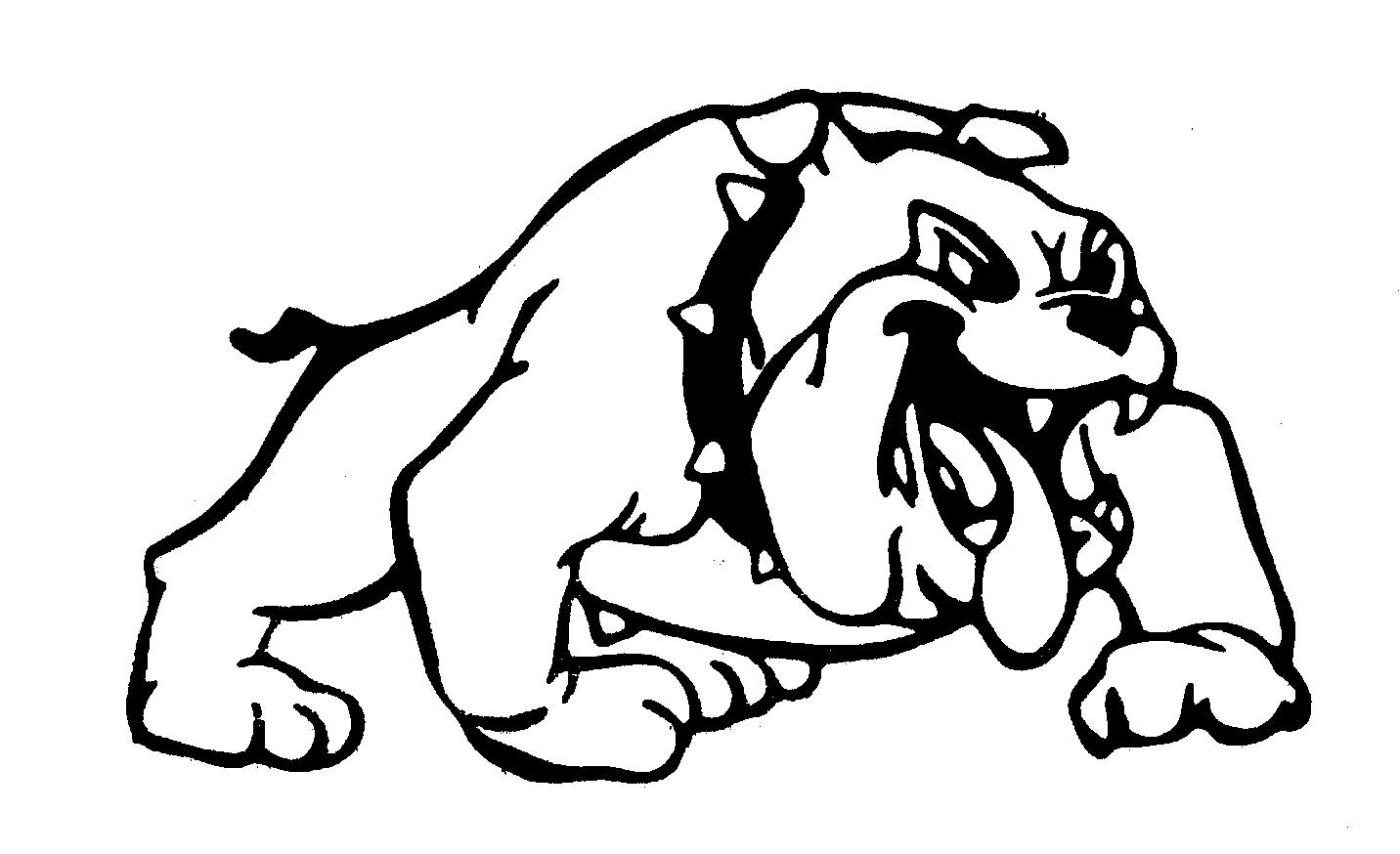 Free Bulldog Black And White Clipart, Download Free Clip Art.