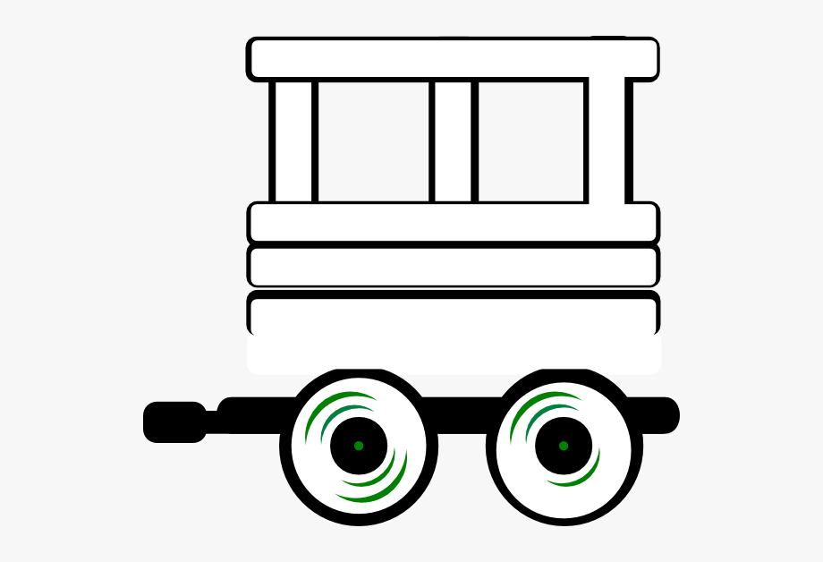 Train Caboose Clipart Black And White Cliparts Others.