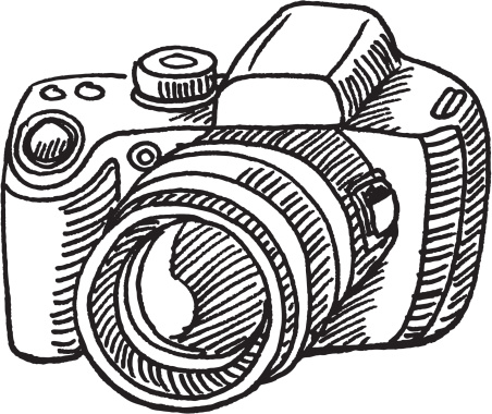 Free Camera Black And White Clipart, Download Free Clip Art.