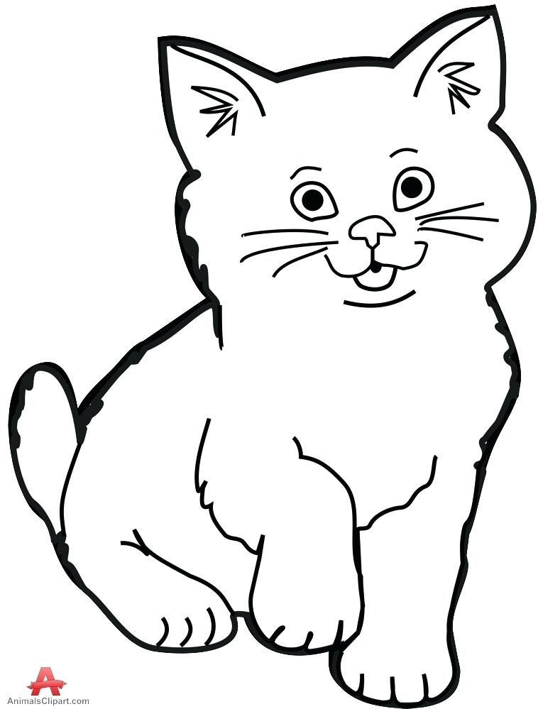 Cat Black And White Drawing at GetDrawings.com.