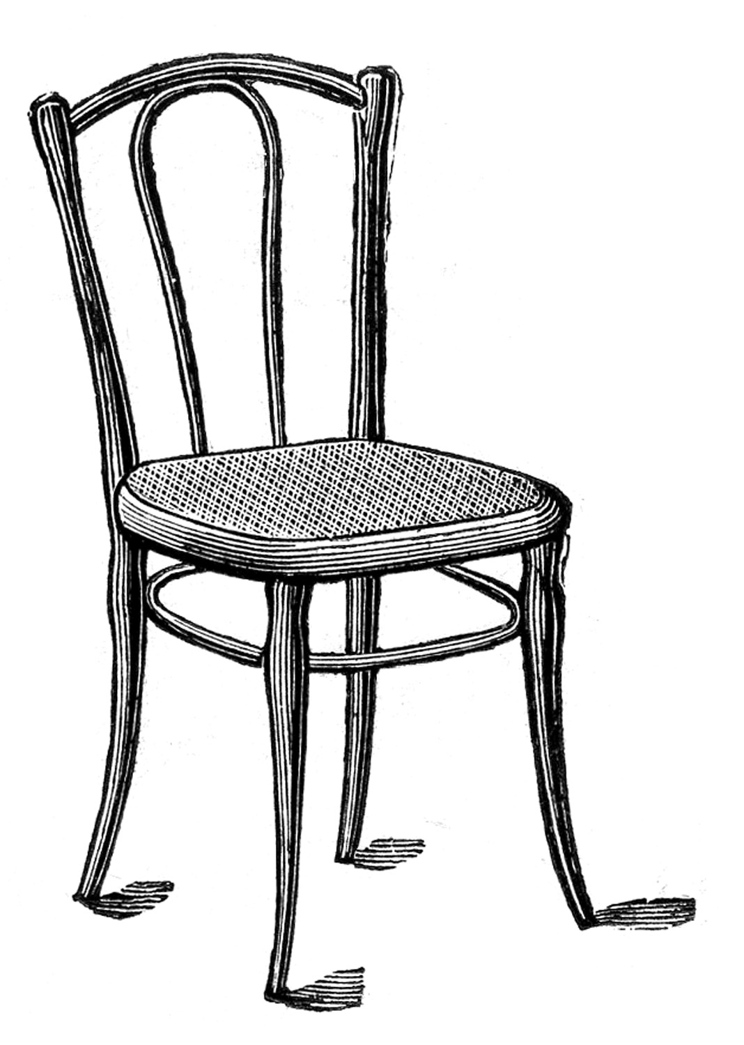 Clip art black and white chair clipart.