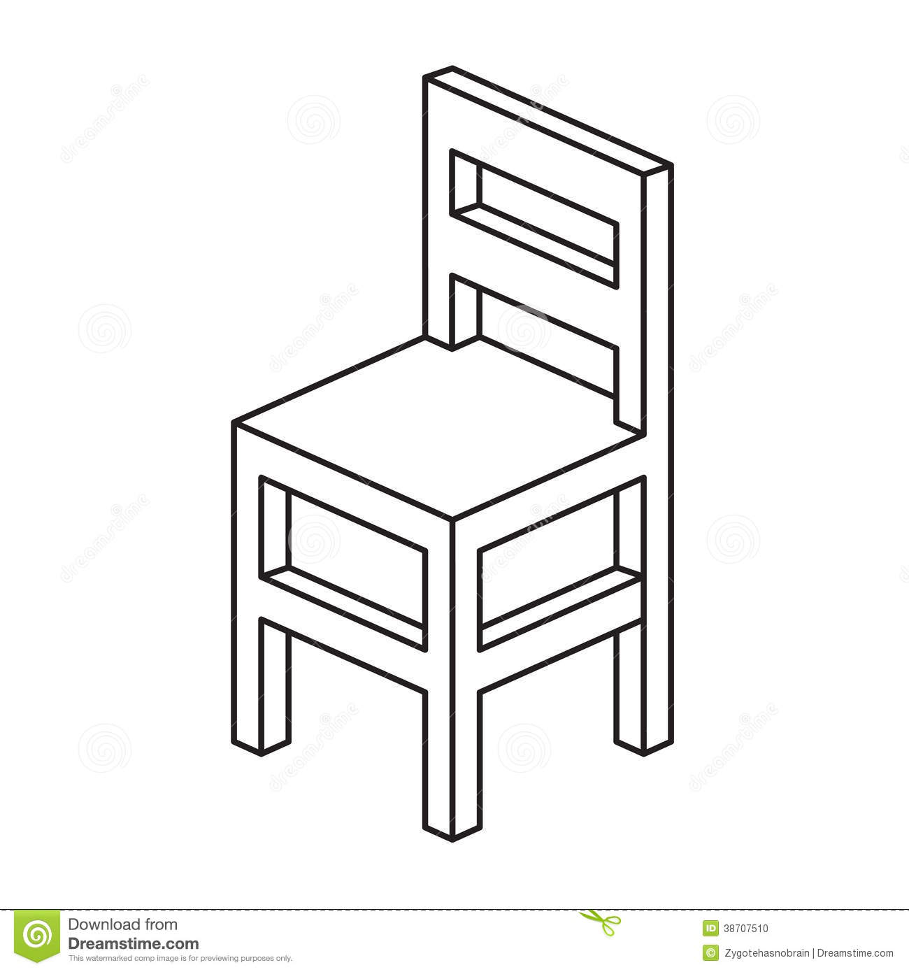 Chairs clipart black and white 5 » Clipart Station.