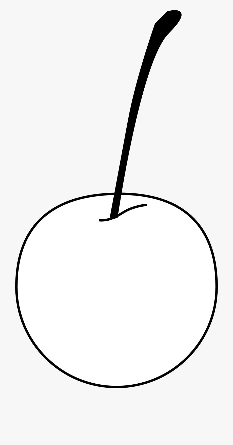 Cherry Black White Line Art 999px.
