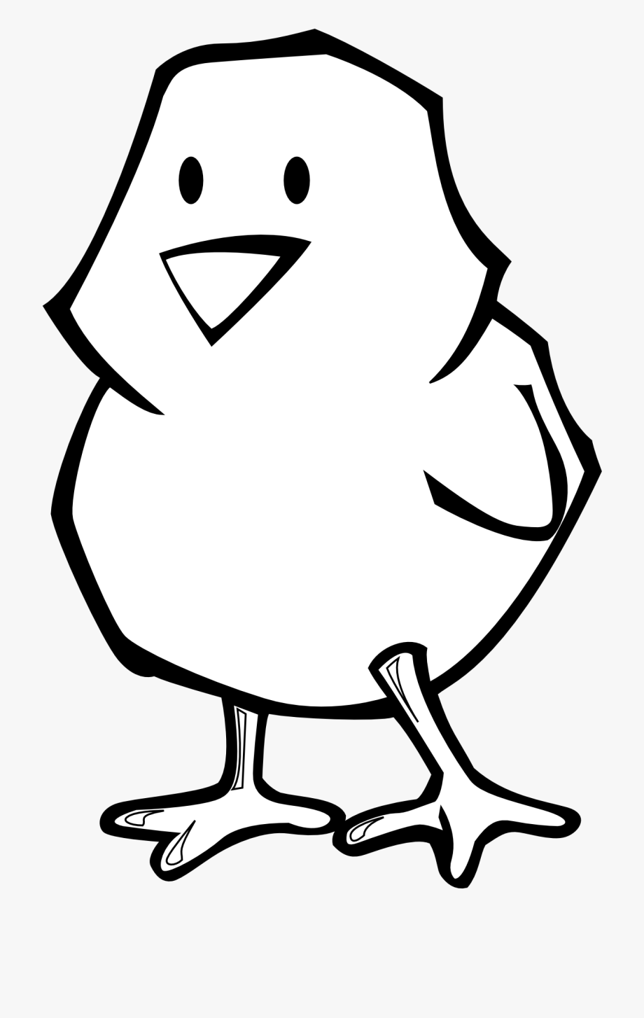 Chicken Clipart Black And White Free Images.