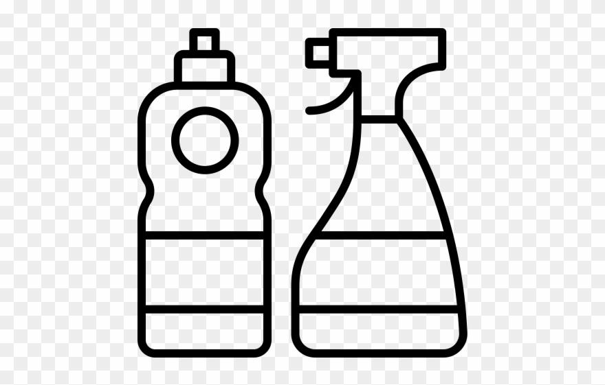 Cleaning Supply Clip Art.