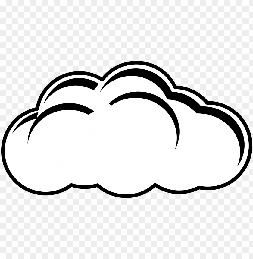 28 collection of cloud clipart black and white png.