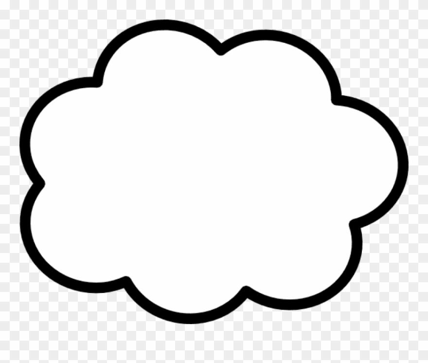 Clipart clouds thinking, Clipart clouds thinking Transparent.