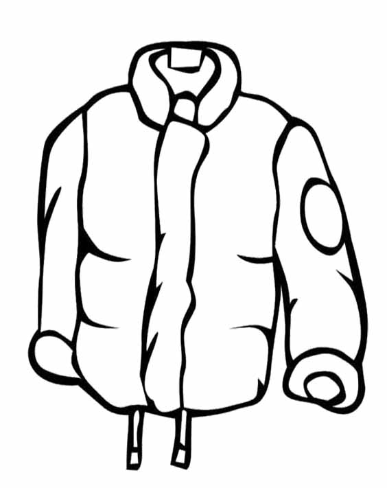 Free Coat Clipart Black And White, Download Free Clip Art.