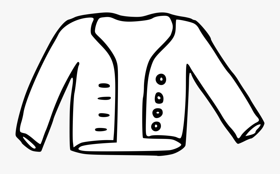 Coat Clipart Black And White Transparent Png.