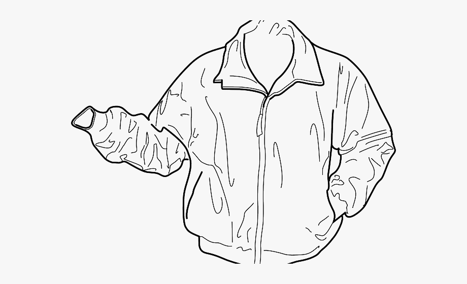 Blazer Clipart Coat Outline.