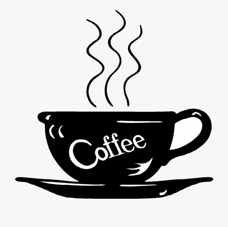 Coffee Coffee Clipart Black And White Lckdabi Around.