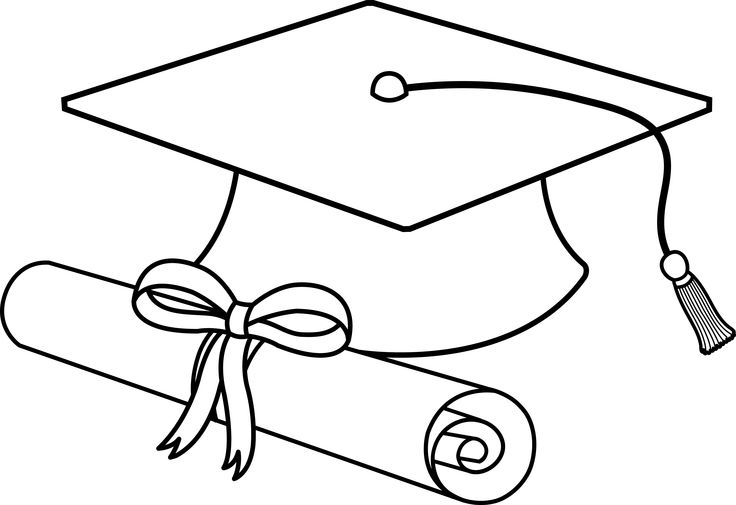 Black and white clipart college Transparent pictures on F.