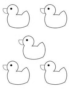 clipart duck black white.