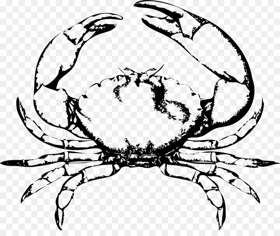 Crab Cartoon clipart.