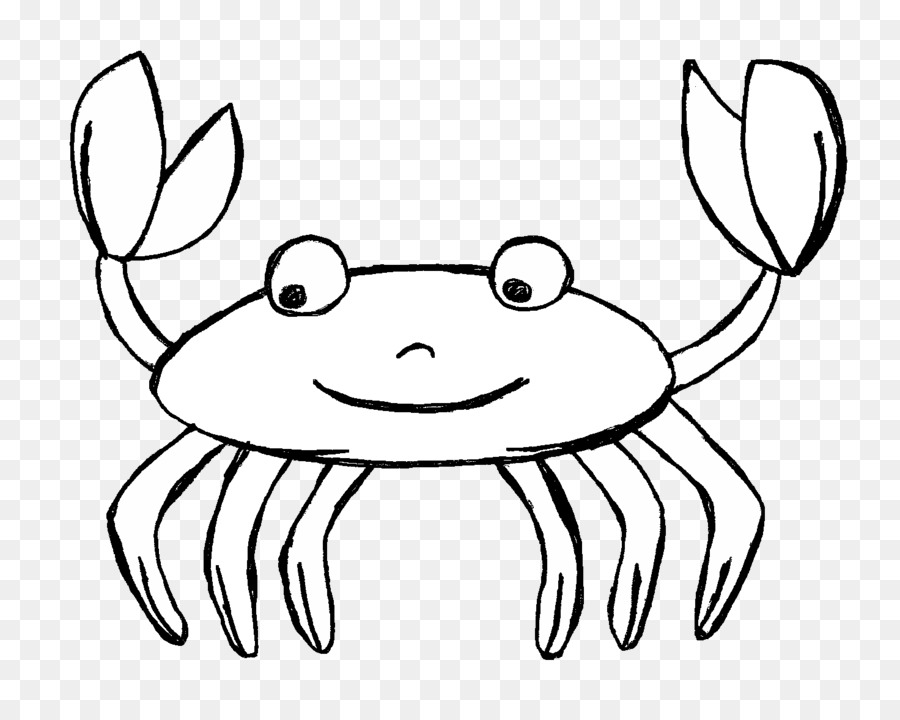 Crab black and white clipart 6 » Clipart Station.