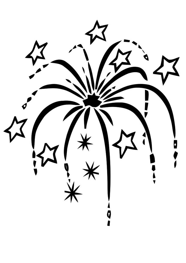 Free Firecracker Clipart Black And White, Download Free Clip.