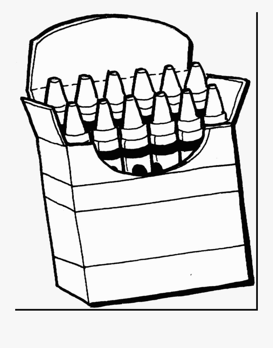 Gray Crayon Coloring Clip Art Black And White Pages.