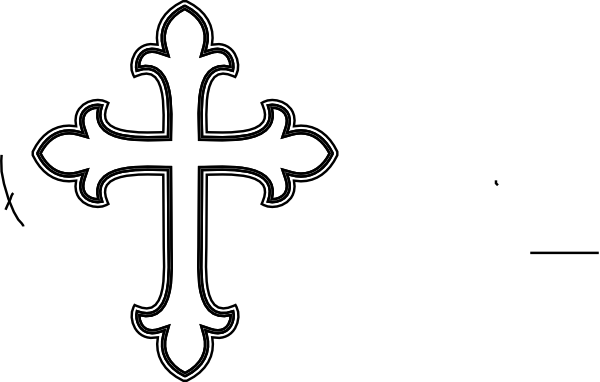 Free Black And White Cross, Download Free Clip Art, Free.