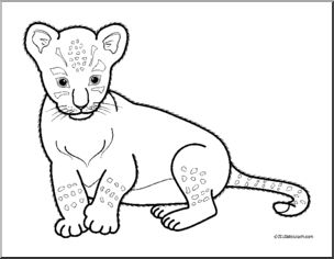 Cub clipart black and white 2 » Clipart Station.