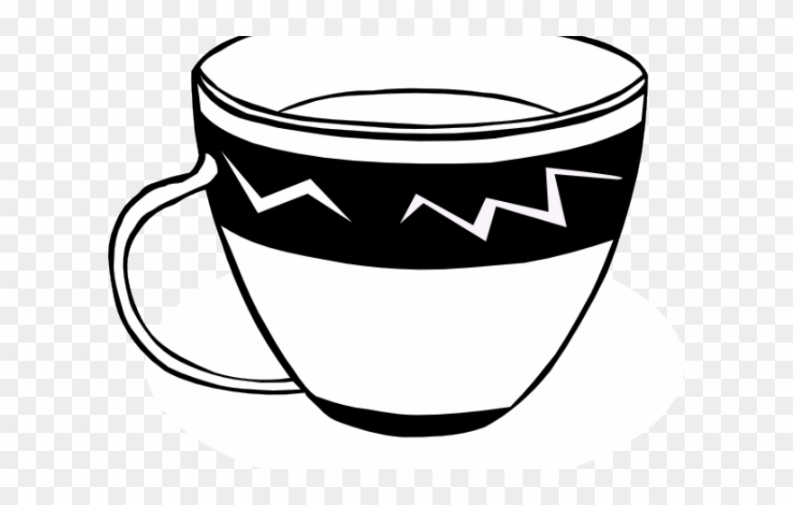 Teacup Clipart Vector.