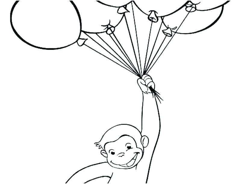 Collection of Curious george clipart.