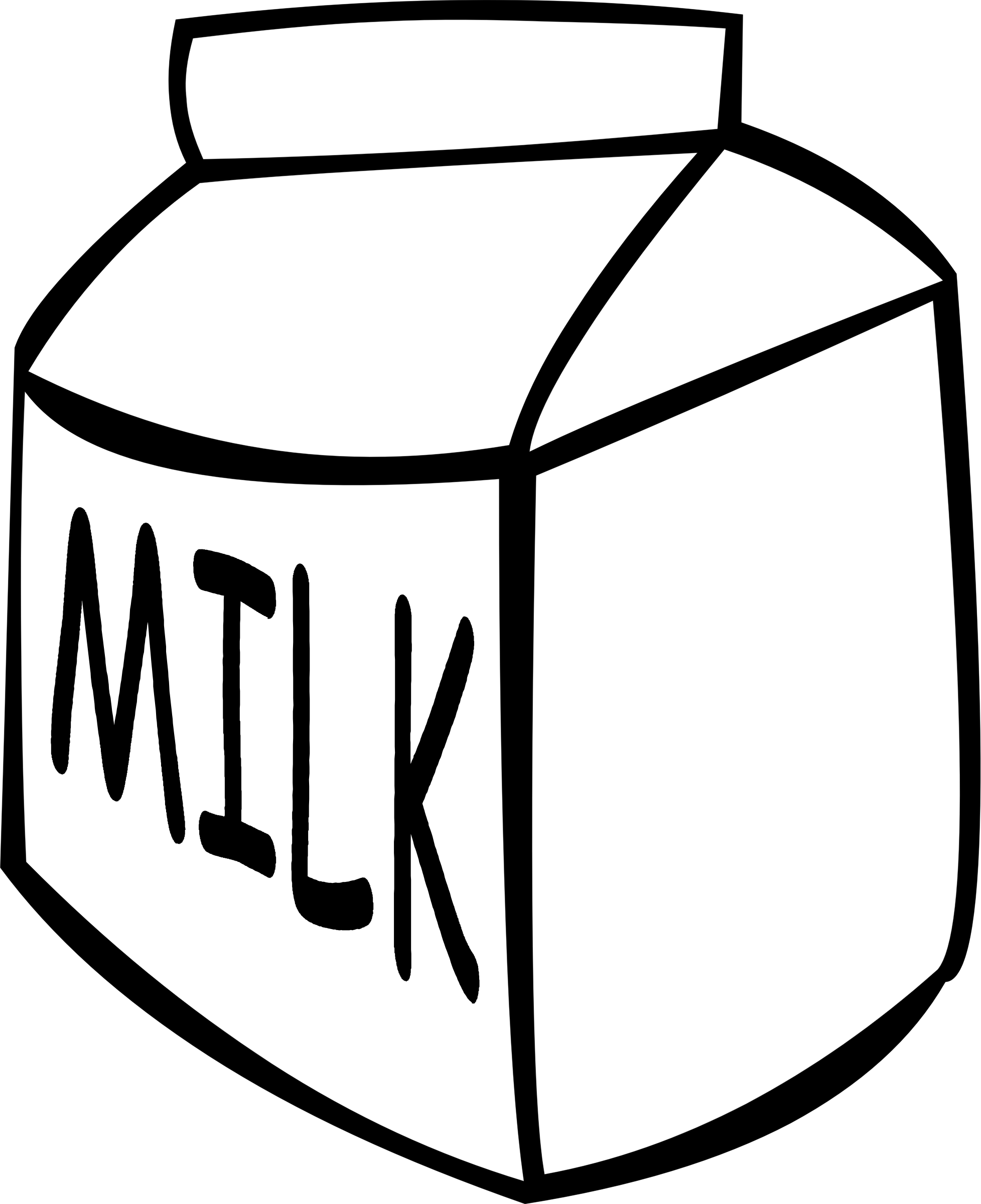 Dairy clipart black and white, Dairy black and white.
