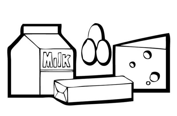 Free Dairy Clipart Black And White, Download Free Clip Art.