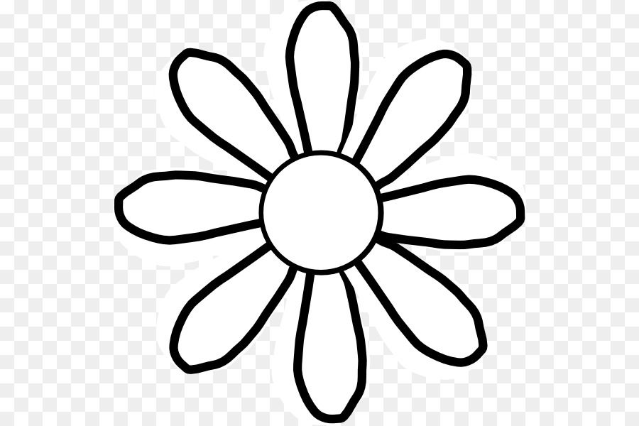 daisy Black and white Drawing Clip art.