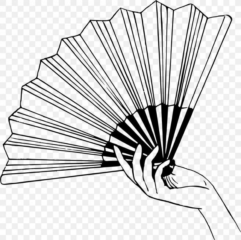 Hand Fan Drawing Clip Art, PNG, 1000x997px, Fan, Artwork.