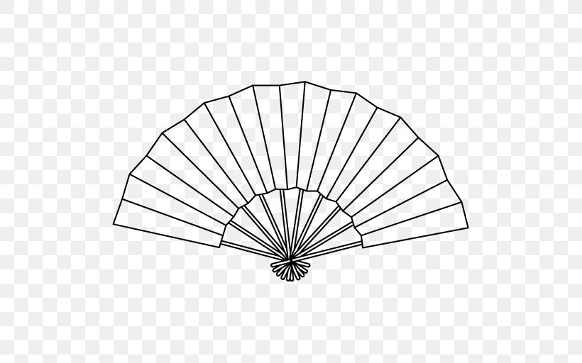 Coloring Book Hand Fan Clip Art, PNG, 512x512px, Coloring.